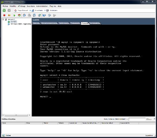 Installation Du Serveur: Partie IV. Installation Du Serveur MySQL